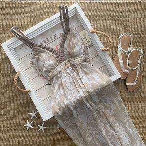 Ladies Chiffon Maxi Dress